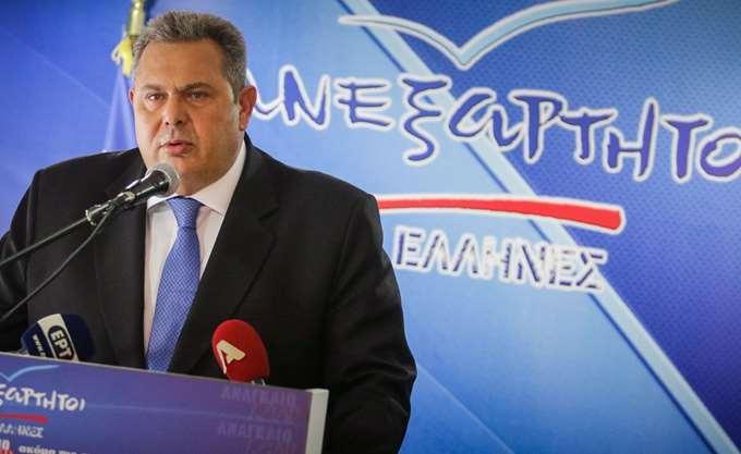 Π. Καμμένος: Ελπίδα για την ταραγμένη περιοχή της Ν.Α Μεσογείου ο άξονας ευστάθειας Ελλάδας, Αιγύπτου και Κύπρου