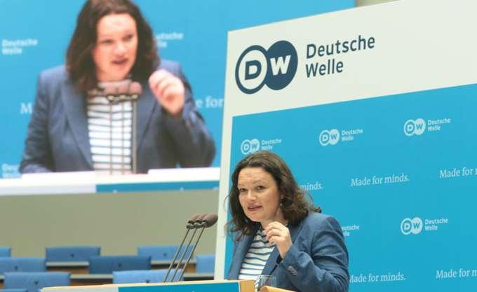 """Γερμανία: """"Ανταρσία"""" εναντίον της αρχηγού του SPD, Αντρέα Νάλες, σχεδιάζουν βουλευτές της"""