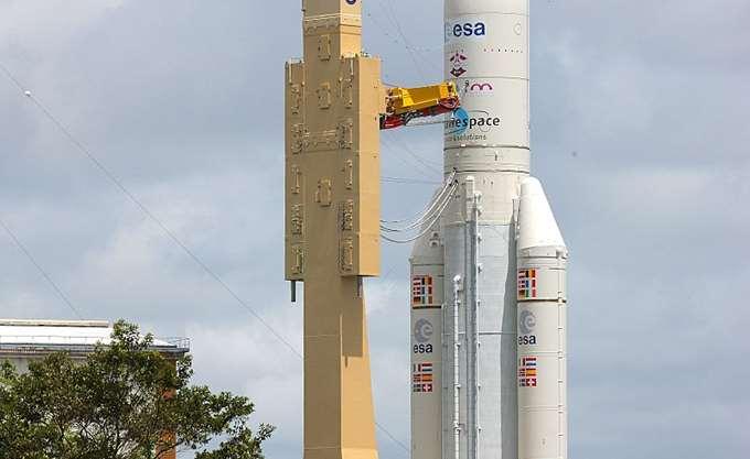 Πραγματοποιήθηκε η 100ή εκτόξευση του ευρωπαϊκού πυραύλου Ariane 5