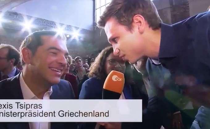 Πηγές ΝΔ: Ο κ. Τσίπρας στο SPD γελούσε την ώρα που χλεύαζαν τη χώρα μας