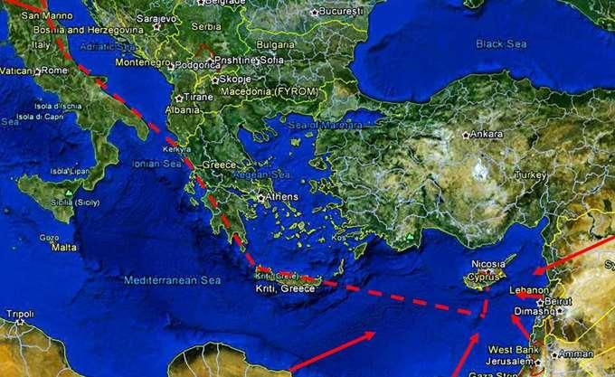 Τουρκική άσκηση-απάντηση στον EastΜed