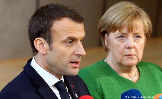 """Ο Μακρόν κάλεσε την Μέρκελ να σταθεί """"στο ύψος"""" των μεταρρυθμίσεων που απαιτούνται στην Ευρώπη"""