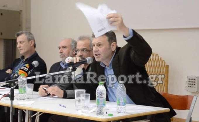 Απέσυρε την υποψηφιότητα του για την Περιφέρεια Στερέας Ελλάδας ο Απόστολος Γκλέτσος