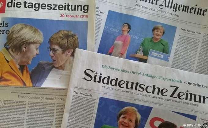 Ο γερμανικός Τύπος για την αποχώρηση Μέρκελ