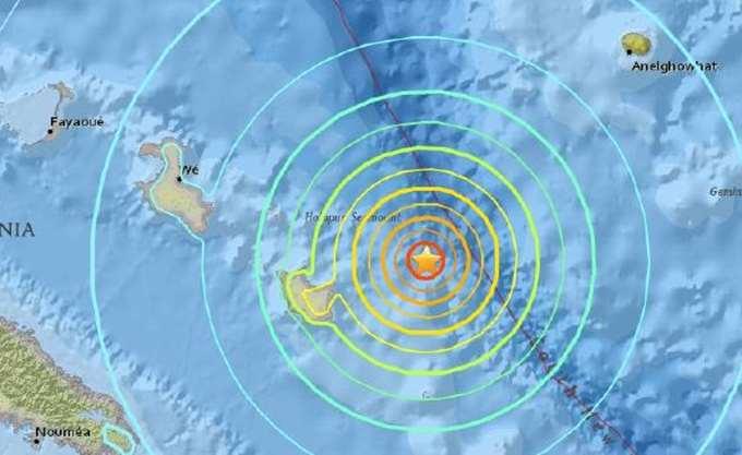 Ισχυρός σεισμός και τσουνάμι στην Νέα Καληδονία