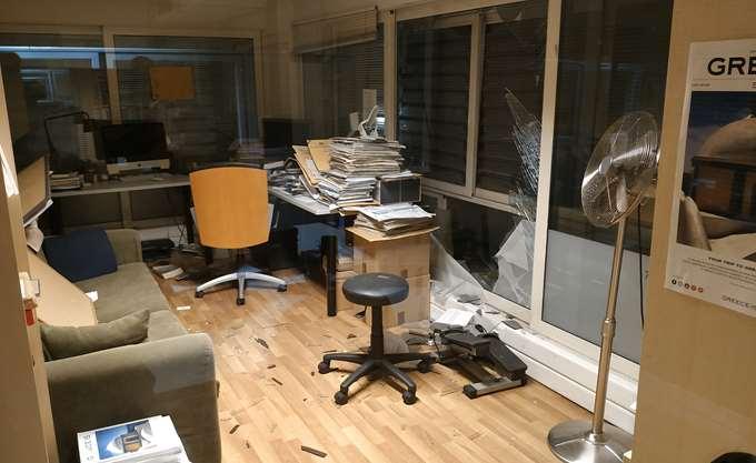 Γ. Αλαφούζος: Ηθικός αυτουργός της επίθεσης στον ΣΚΑΪ η κυβέρνηση ΣΥΡΙΖΑ-ΑΝΕΛ