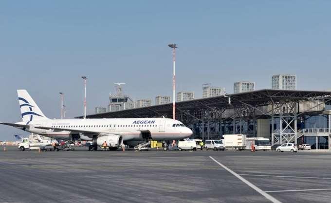 """Κανονικά οι πτήσεις στο αεροδρόμιο """"Μακεδονία"""""""