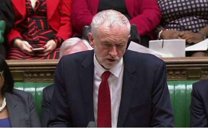 Κόρμπιν: Το Brexit πρέπει να τεθεί και πάλι στον λαό με εκλογές ή δημοψήφισμα
