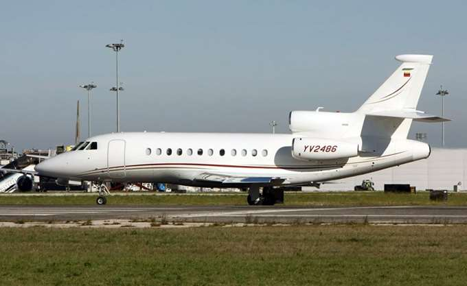 """Ερωτήματα για τη μυστήρια πτήση του βενεζουελανικού Falcon στο """"Ελ. Βενιζέλος"""""""