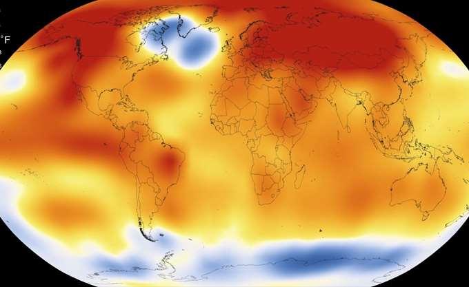 Αμερικανοί επιστήμονες: Το 2018 ήταν το τέταρτο θερμότερο έτος στη μετεωρολογική ιστορία