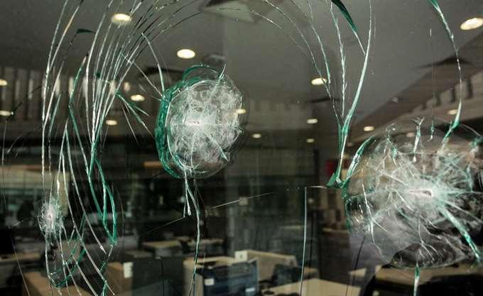 Επίθεση στα γραφεία της Εθνικής Ασφαλιστικής