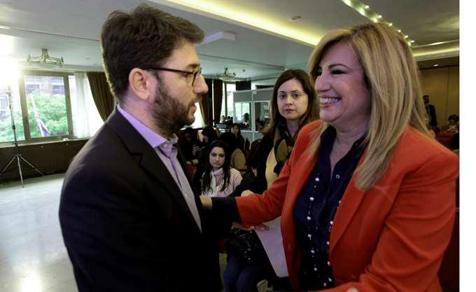 Γεννηματά - Ανδρουλάκης: Ζυμώσεις για συμμαχίες και ανασύνταξη δυνάμεων
