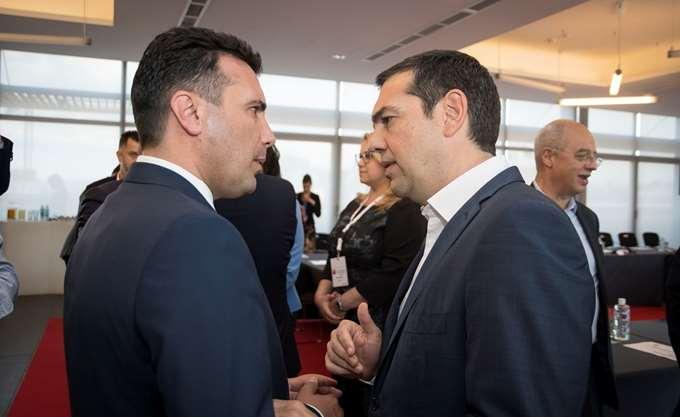 ΠΓΔΜ: Άλλο στίγμα έδωσε ο Τσίπρας κι άλλο ο Ζάεφ- Πρόοδος μεν... αλλά