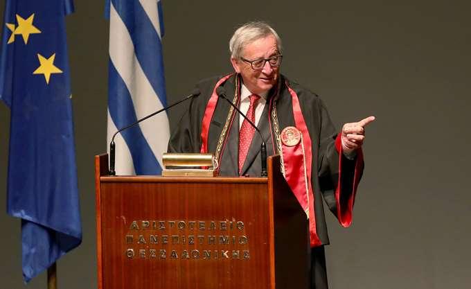Συγχαρητήριο μήνυμα Ζ. Κ. Γιούνκερ σε Ν. Αναστασιάδη