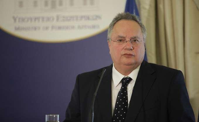Συνάντηση Ν. Κοτζιά με τον Κύπριο ΥΠΕΞ αύριο Τετάρτη