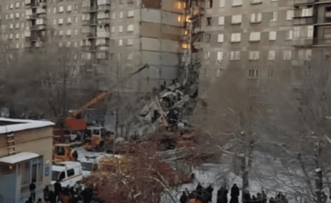 Ρωσία: Τους 31 έφθασαν οι νεκροί από την κατάρρευση πολυκατοικίας