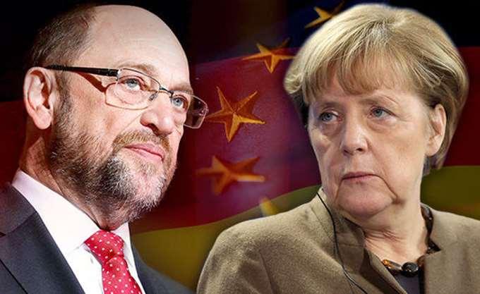 Γερμανικά ΜΜΕ: Με την πλάτη στον τοίχο Μέρκελ και Σουλτς