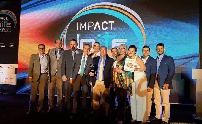 Χρυσή διάκριση της Data Communication στα Impact BITE Awards 2018