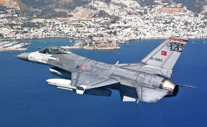Δύο τουρκικά αεροσκάφη εισήλθαν στο FIR Αθηνών χωρίς να καταθέσουν σχέδιο πτήσεως