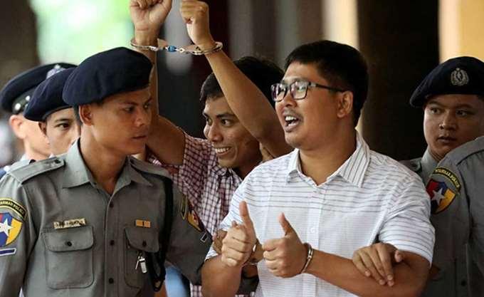 ΟΗΕ: Να απελευθερωθούν άμεσα οι δύο δημοσιογράφοι του Reuters στη Μιανμάρ