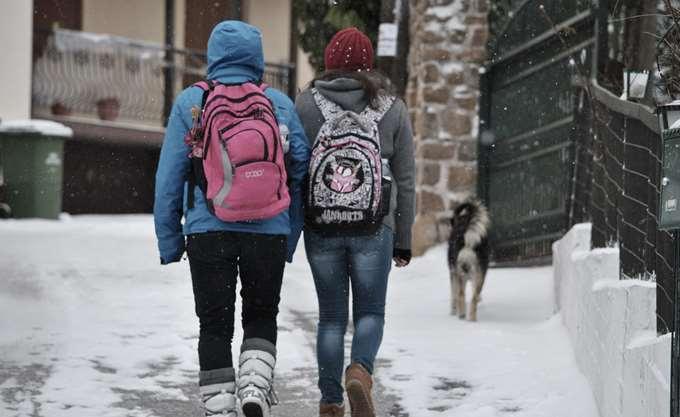 """Κλειστά σχολεία ή καθυστερημένο """"κουδούνι"""" λόγω κακοκαιρίας στη Δυτική Μακεδονία"""