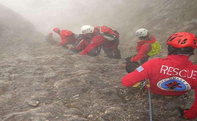 Νεκρός ο δεύτερος ορειβάτης στον Όλυμπο-σε εξέλιξη η μαραθώνια επιχείρηση ανάσυρσης του