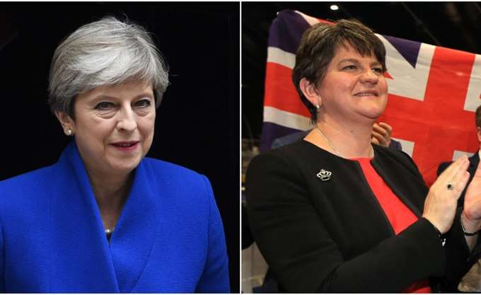 DUP: Συνεχίζονται οι διαπραγματεύσεις με τους Συντηρητικούς της May