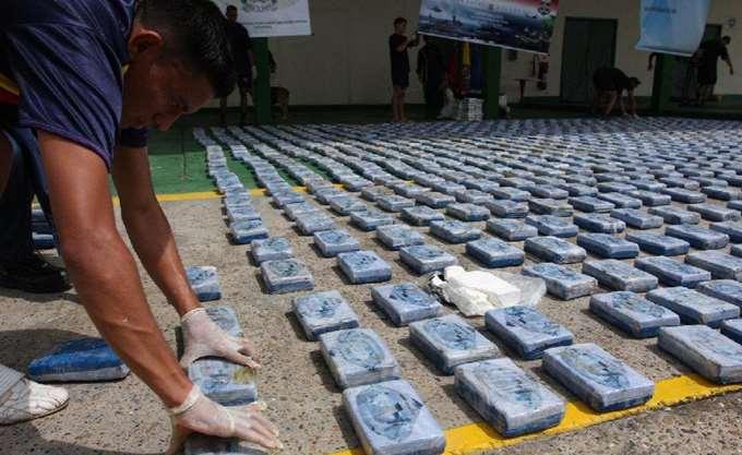 Ισημερινός: Κατασχέθηκε ένας τόνος κοκαΐνης κοντά στα σύνορα με την Κολομβία