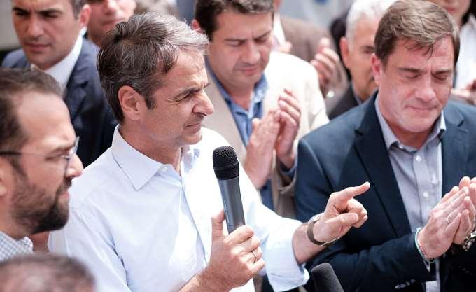 Κ. Μητσοτάκης: Η λάσπη θα απαντιέται σκληρά και με επιχειρήματα