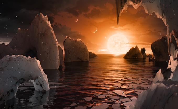 Νέες εκτιμήσεις για δύο κατοικήσιμους πλανήτες στο κοντινό άστρο Trappist-1