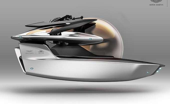Η Aston Martin θα κατασκευάσει το πρώτο υποβρύχιο της