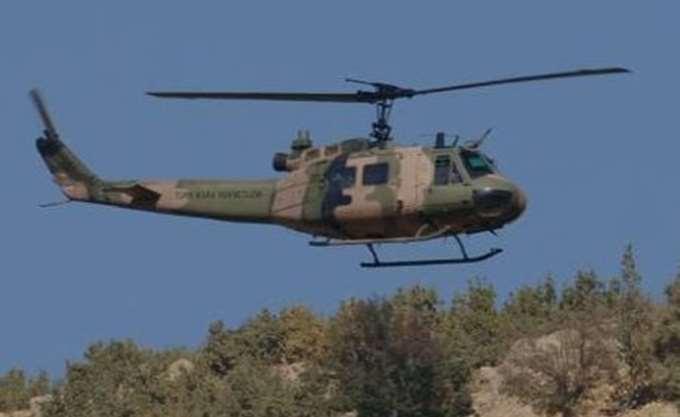 Καταρρίφθηκε τουρκικό στρατιωτικό ελικόπτερο στα σύνορα με τη Συρία