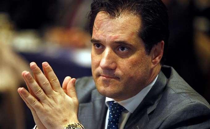 Αδ. Γεωργιάδης: Ο Τσίπρας έταζε λες και θα είναι πρωθυπουργός το 2020