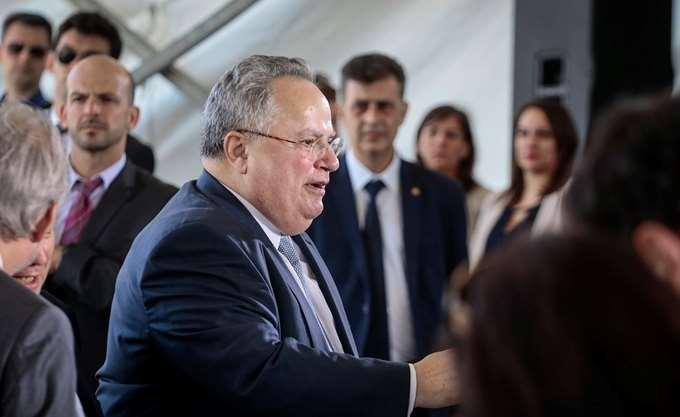 """Ως """"φωτεινό παράδειγμα"""" για τη ΝΑ Μεσόγειο βλέπει τη συμφωνία με την πΓΔΜ ο Ν. Κοτζιάς"""