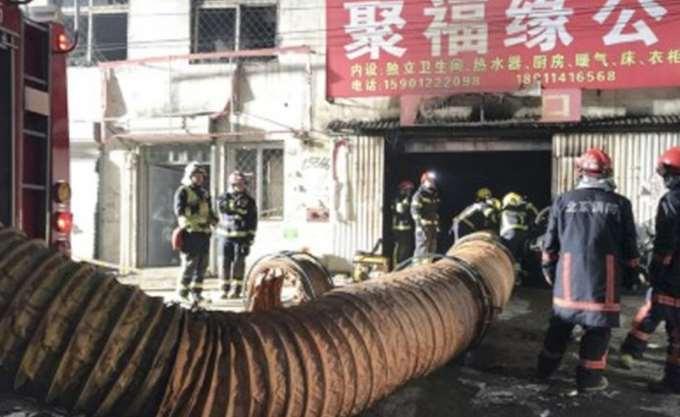 Κίνα: 19 νεκροί από πυρκαγιά σε οίκημα