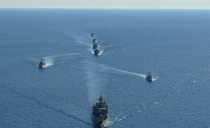 Συνεκπαίδευση μεταξύ πλοίων του ελληνικού και γερμανικού πολεμικού ναυτικού