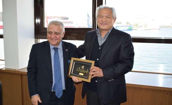 Capt. Fu: Σημαντικός ο ρόλος του Πειραιά στην πρωτοβουλία Belt and Road της Κίνας
