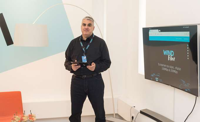 WIND: Νέες υπηρεσίες WIND Fiber για πιο γρήγορο Internet