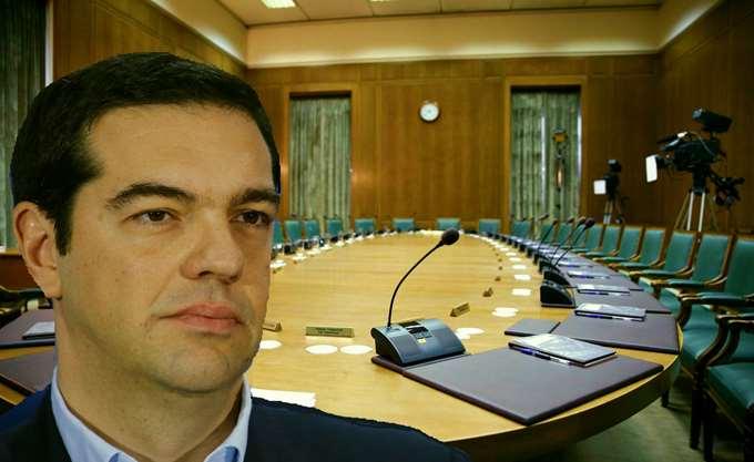 Συνεδριάζει τη Δευτέρα, υπό τον Τσίπρα, το υπουργικό συμβούλιο
