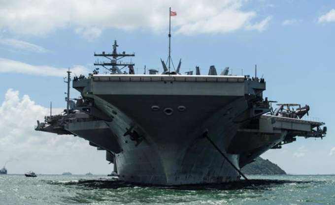Aμερικανικό αεροσκάφος του Πολεμικού Ναυτικού συνετρίβη στη Θάλασσα των Φιλιππίνων