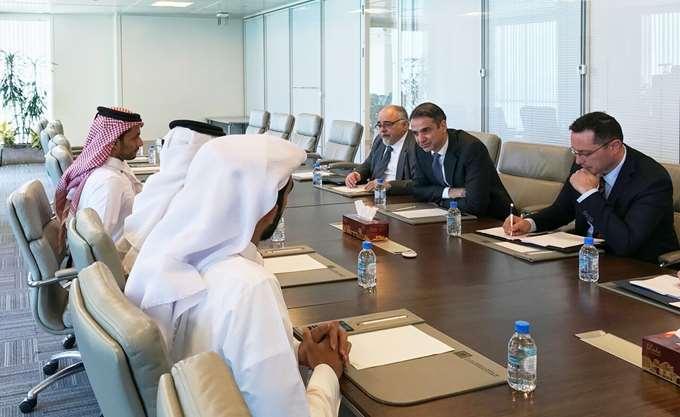 Το επενδυτικό σχέδιο της ΝΔ παρουσίασε στον εμίρη του Κατάρ ο Κ. Μητσοτάκης
