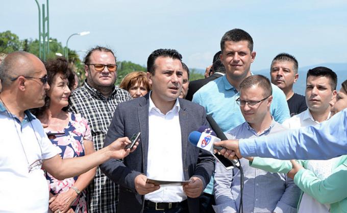 """Ζάεφ: Η συμφωνία """"επιβεβαιώνει μια για πάντα τη μακεδονική εθνική και πολιτιστική ταυτότητα"""""""