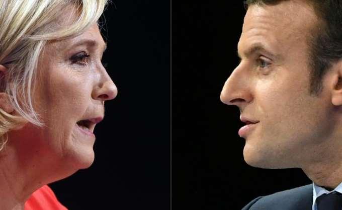 Ψήφισαν οι Macron και Le Pen