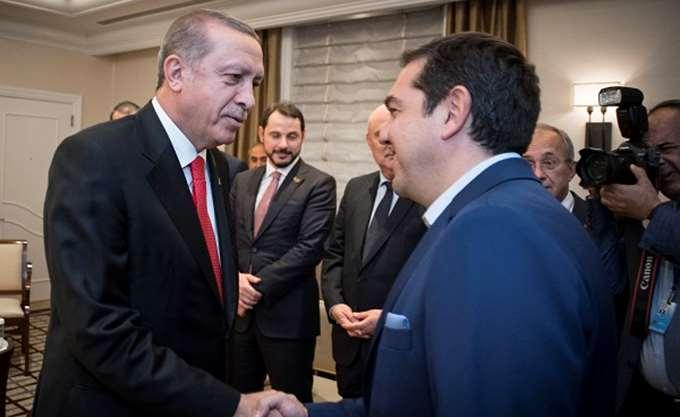 Περίπου δύο ώρες διήρκεσε η συνάντηση Τσίπρα - Ερντογάν