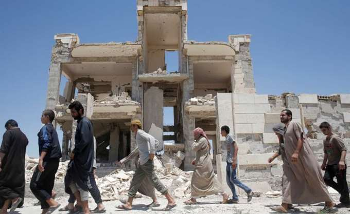 Συρία: 11 νεκροί από κατάρρευση κτηρίου στο Χαλέπι