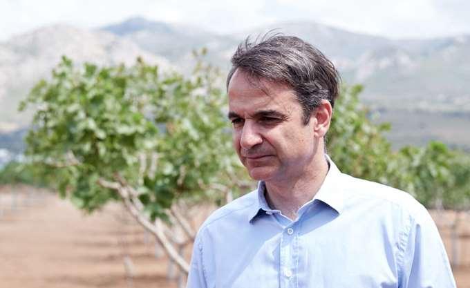 Τη Νεάπολη Λακωνίας επισκέφθηκε ο Κυρ. Μητσοτάκης