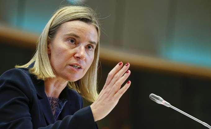 Εναντίον οποιασδήποτε ξένης στρατιωτικής επέμβασης στη Βενεζουέλα η Ύπατη Εκπρόσωπος της ΕΕ