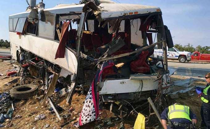 Ισπανία: Λεωφορείο σφηνώθηκε σε υποστύλωμα γέφυρας - Πέντε νεκροί