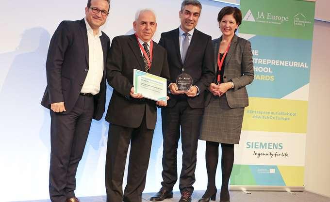 Η Ελλάδα βραβεύτηκε για την μαθητική επιχειρηματικότητα