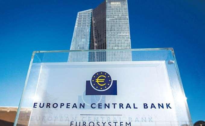 ΕΚΤ: Αναμένει επιβράδυνση της ανάπτυξης λόγω των εμπορικών συγκρούσεων